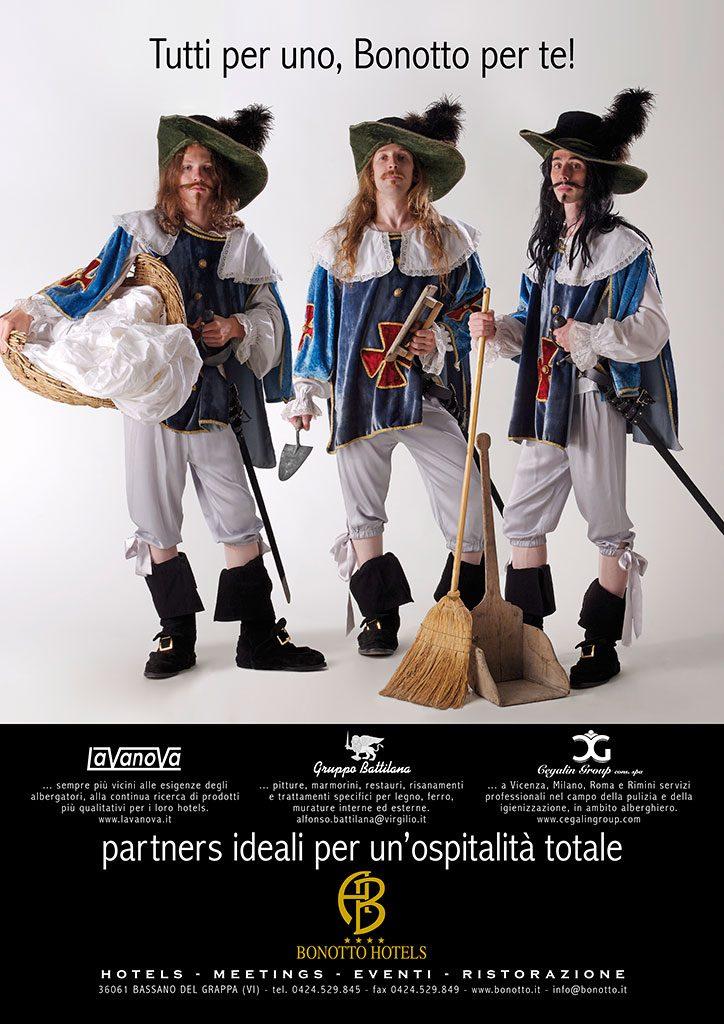 AdOpera, studio pubblicitario, comunicazione, immagine. Still-life, fashion, portrait: campagna stampa BONOTTO