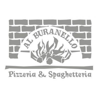 AdOpera, studio pubblicitario, comunicazione, immagine. Logo, naming, brand identity: AL BURANELLO PIZZERIA