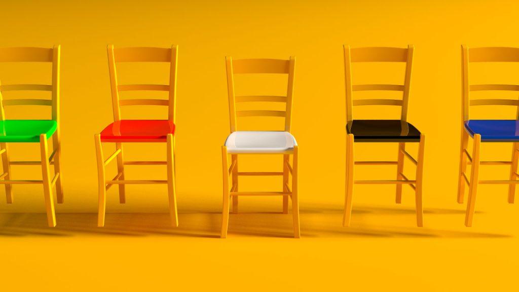 3D, Rendering, Design, Concept, Illustration | AdOpera: campagna web ALQUBO - sedute anticonfomiste