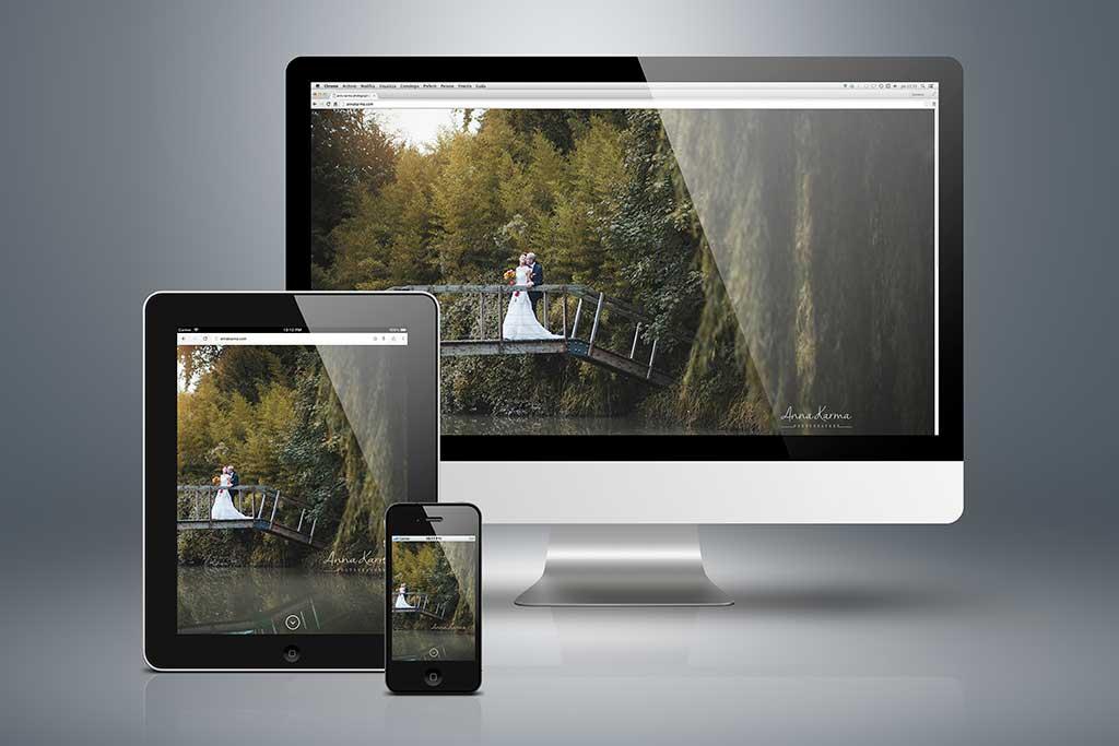 AdOpera, studio pubblicitario, comunicazione, immagine. Sito Web Modulare, Web Design, Social Media: annakarma.com (work in progress)