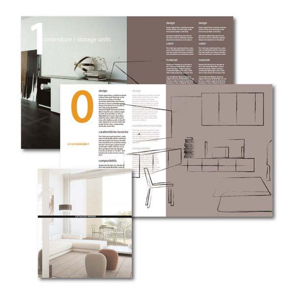 AdOpera, studio pubblicitario, comunicazione, immagine. Grafica, cataloghi, depliant e packaging: Catalogo prodotti PIANCA ARREDAMENTI