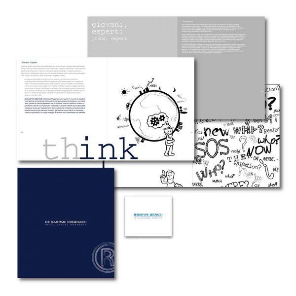 AdOpera, studio pubblicitario, comunicazione, immagine. Grafica, cataloghi, depliant e packaging: Brochure istituzionale STUDIO AVV. GASPARI OSGNACH