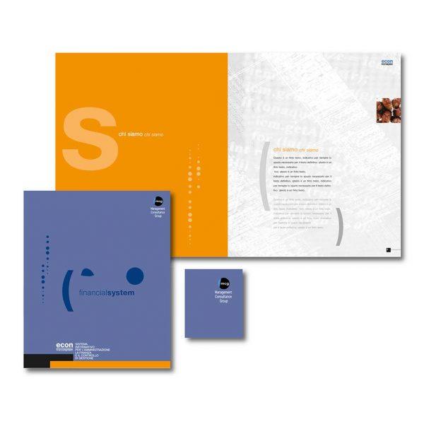 AdOpera, studio pubblicitario, comunicazione, immagine. Grafica, cataloghi, depliant e packaging: Brochure istituzionale MCG