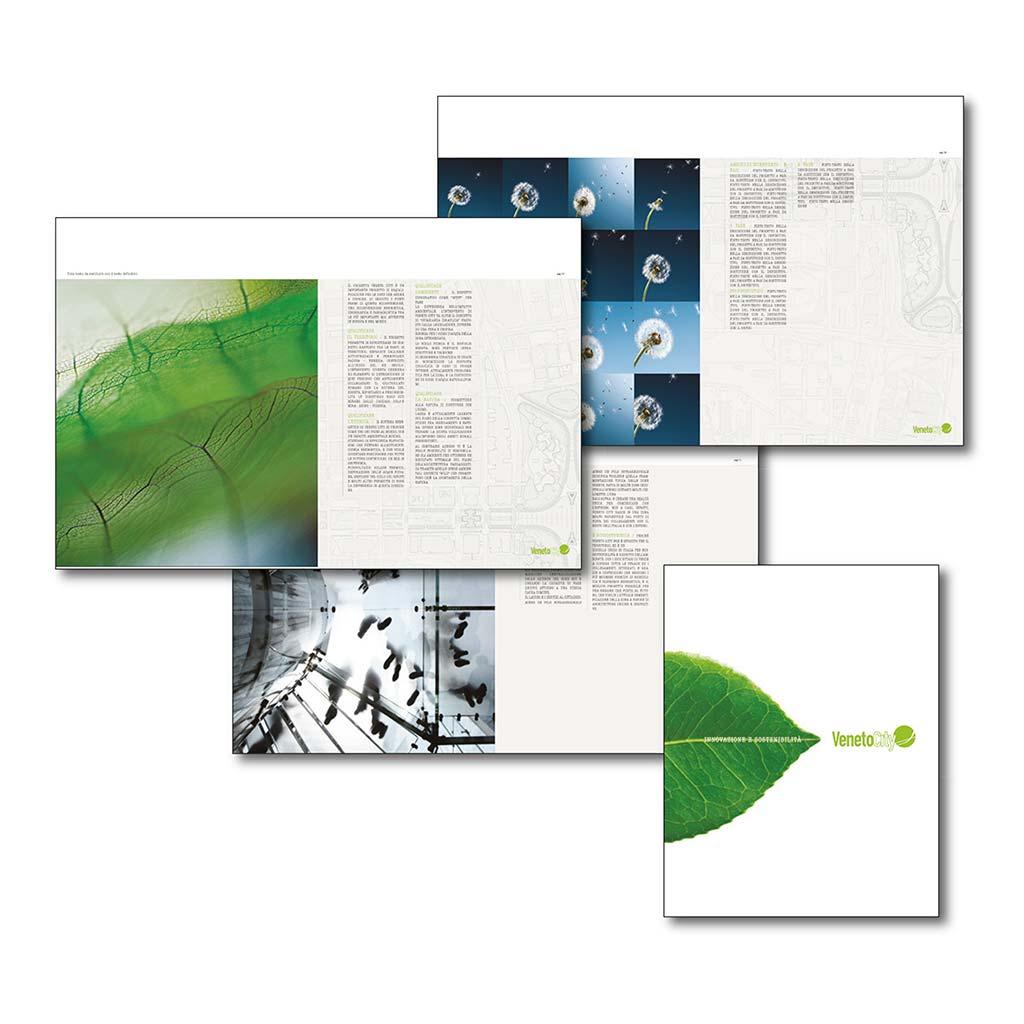 AdOpera, studio pubblicitario, comunicazione, immagine. Grafica, cataloghi, depliant e packaging: Catalogo VENETO CITY